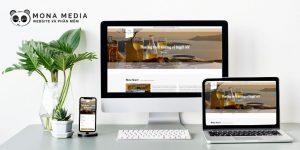 Mẫu website khách sạn Mykonos
