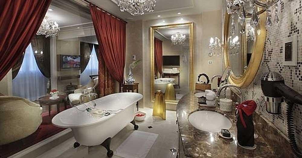 Phong cách thiết kế phòng khách sạn kiểu Âu thông minh