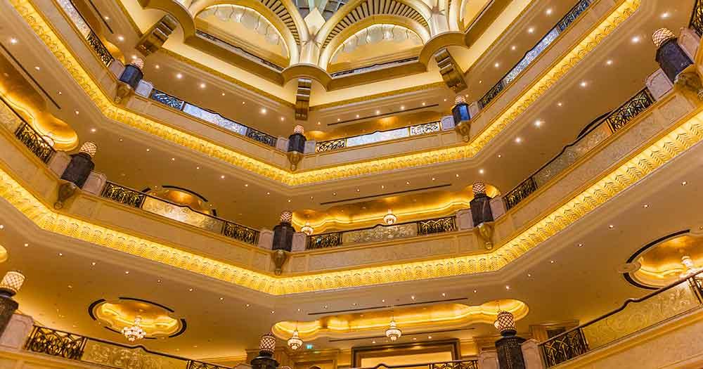 thiết kế khách sạn Phong cách sang trọng (luxury)