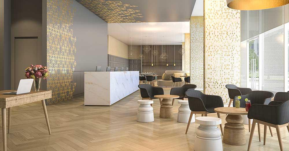 thiết kế khách sạn Phong cách hiện đại (modern)