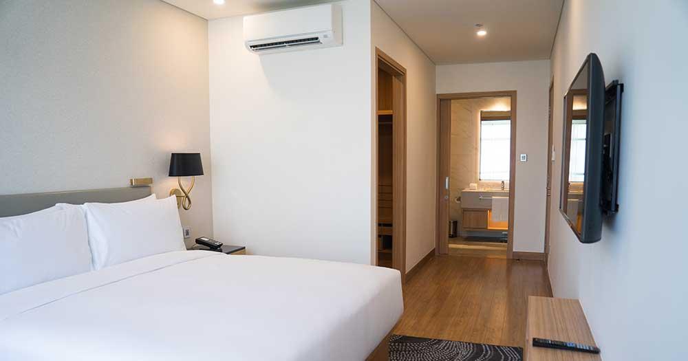 Phong cách thiết kế phòng khách sạn nhỏ