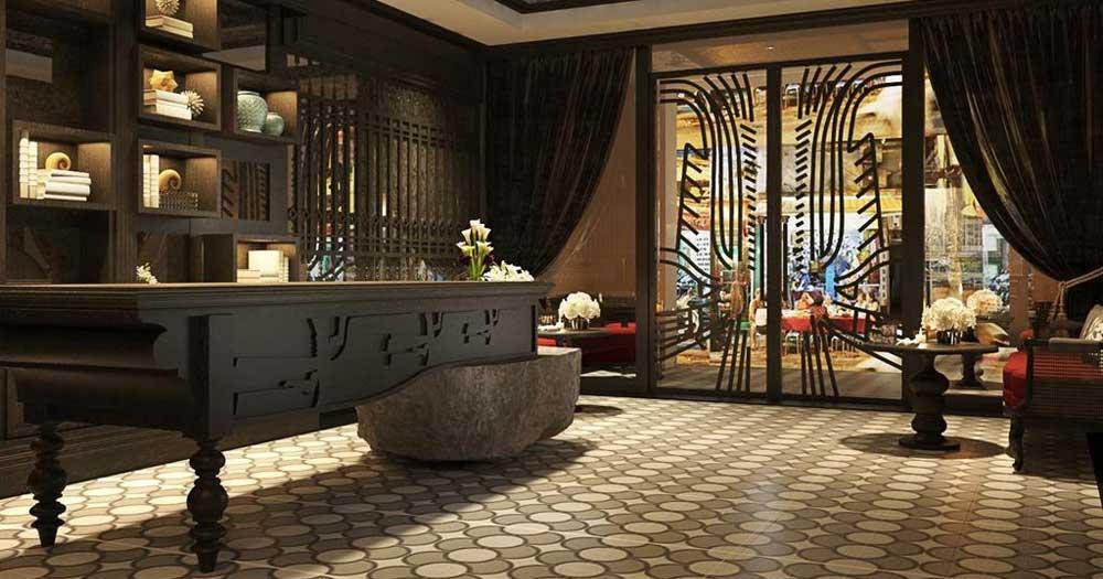 Không gian khách sạn thiết kế và sử dụng nội thất theo phong cách cổ điển