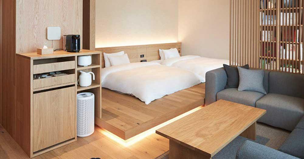 Thiết kế nội thất khách sạn theo phong cách tối giản nhưng vẫn đảm bảo công năng cao