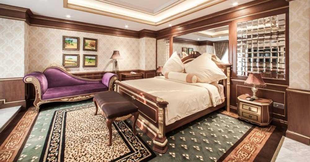Phong cách thiết kế phòng khách sạn kiểu Pháp sang trọng