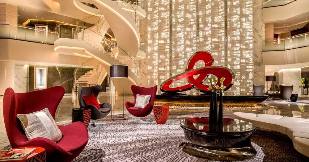 Thiết kế sảnh khách sạn 5 sao