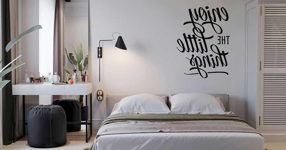 Phong cách thiết kế phòng khách sạn tối giản