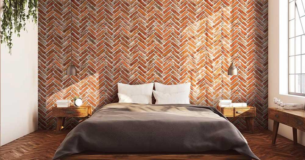 Sử dụng giấy dán tường trong trang trí phòng khách sạn