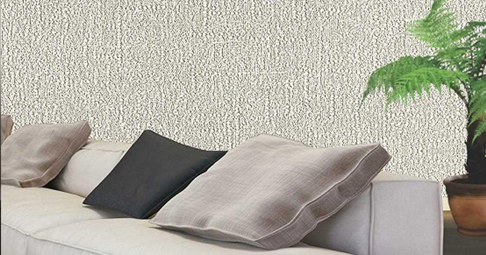 Sử dụng vải dán tường trong trang trí