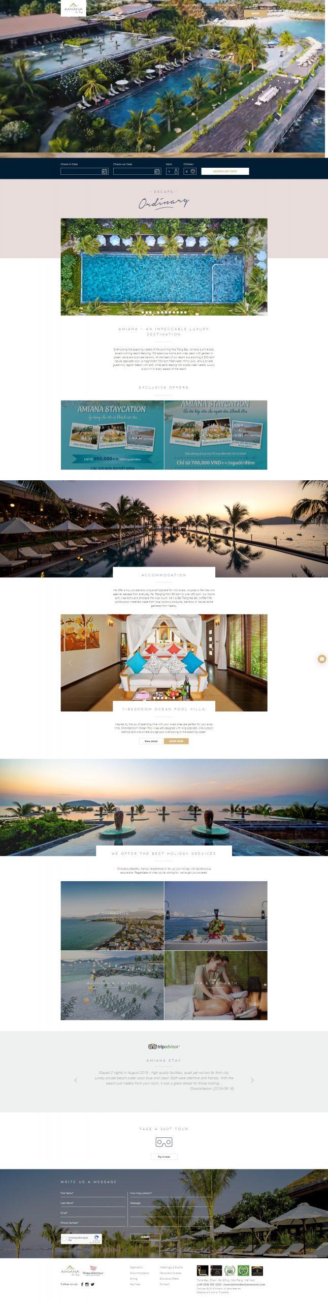 Dự án Amian Resort Nha Trang