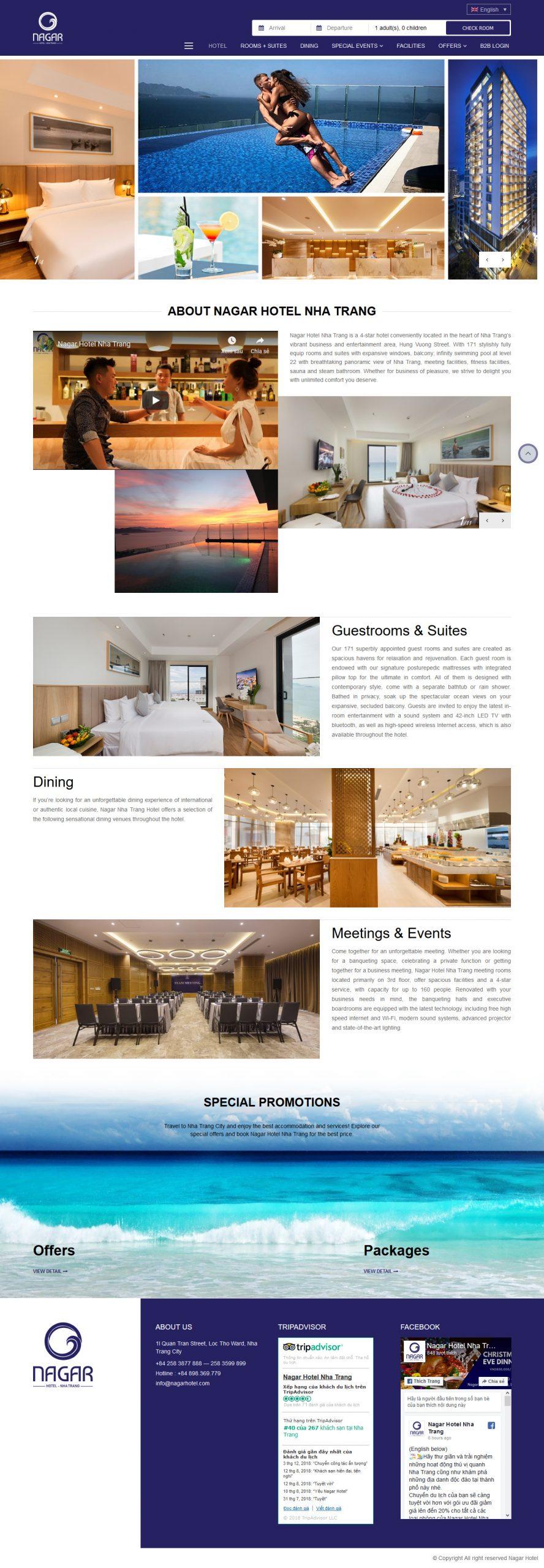 Dự án Home Nagar hotel