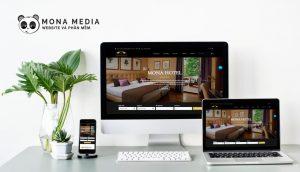 Mẫu web khách sạn Soho Hotel