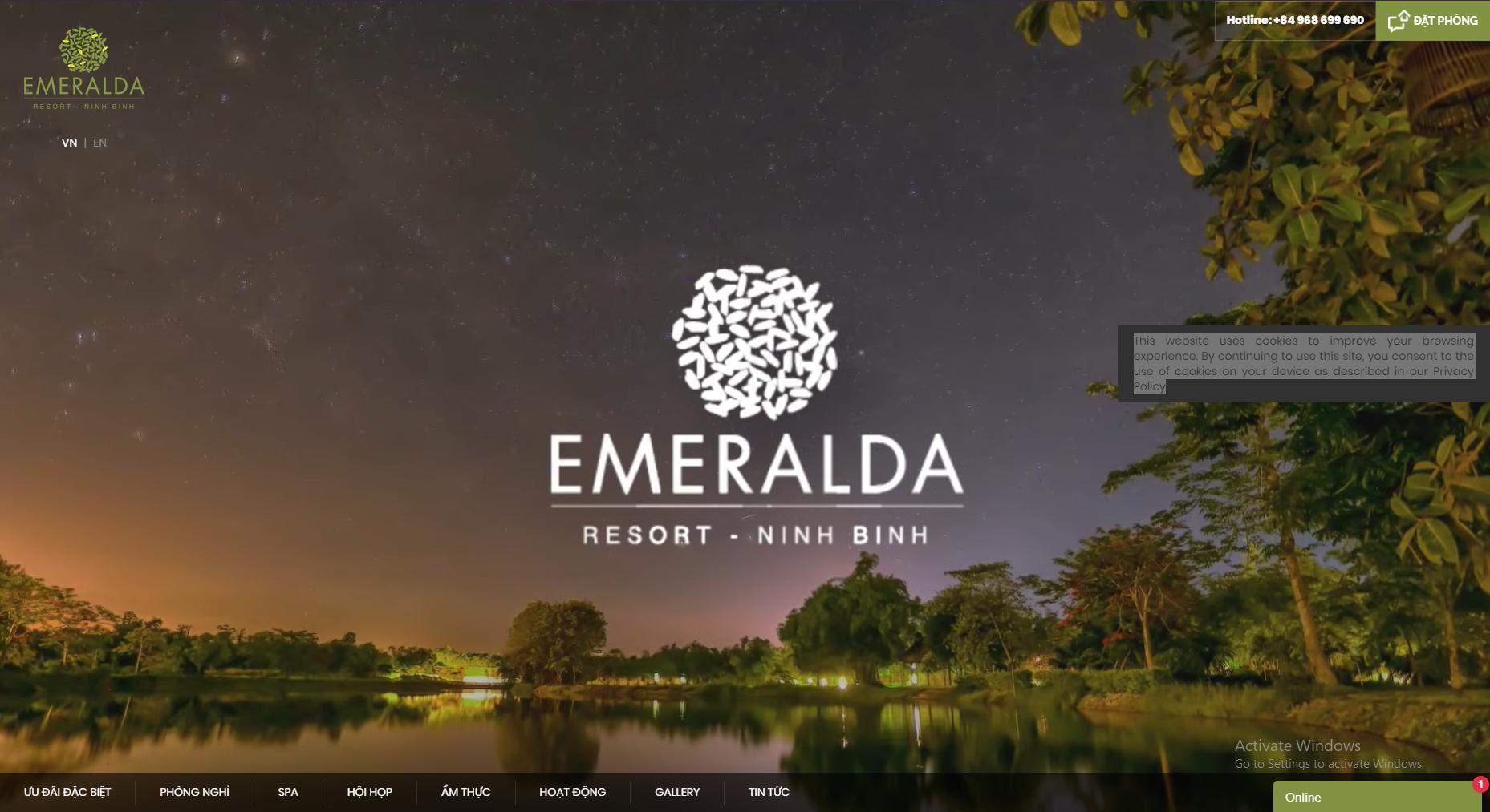 Dự án Emeralda Resort