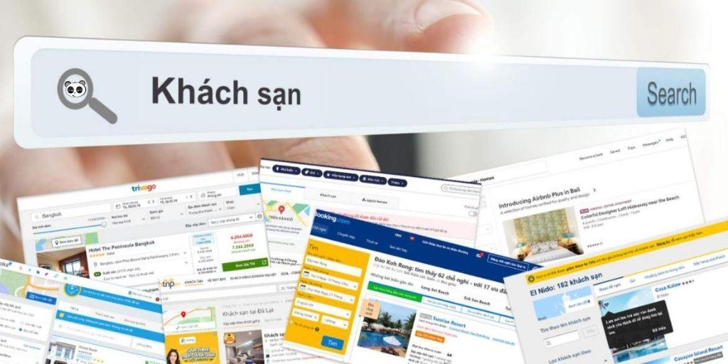 Liên kết với các trang web đặt phòng khác sạn nổi tiếng